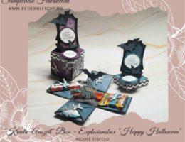 Explosionsbox Happy Halloween mit Stampin Up